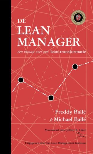 Boeken over lean de Lean manager Pink turtle.JPG